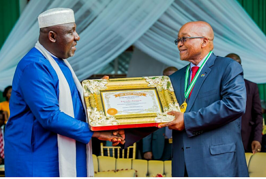 ZUMA, OKOROCHA SIGNS MOU TO ESTABLISH AFRICAN UNION UNIVERSITY