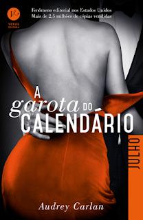 RESENHA: A Garota do Calendário (Julho) - Audrey Carlan