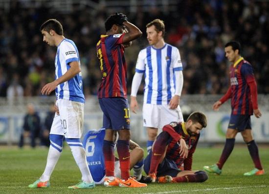 Sociedad đã chơi một trận đấu tuyệt hay và giành chiến thắng xứng đáng