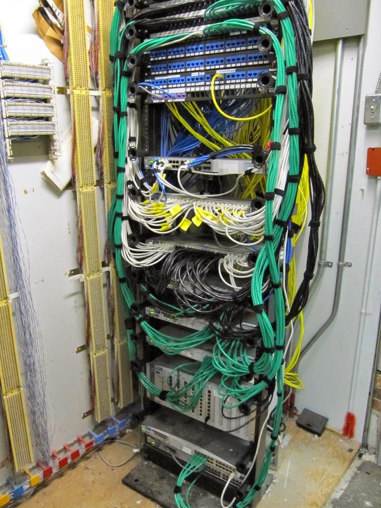 on wiring closets