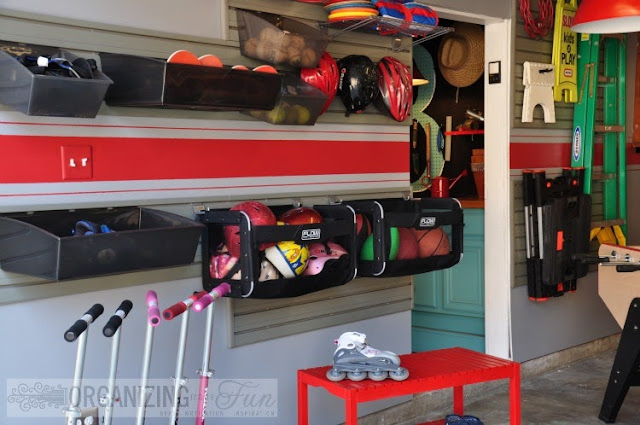 Organized Garage of Organizing Made Fun's home tour