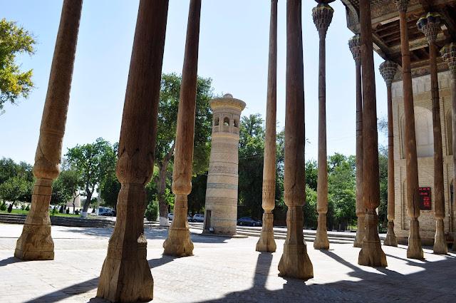 Travel Photos With No Filter and edits bolo hauz mosque bukhara uzbekistan
