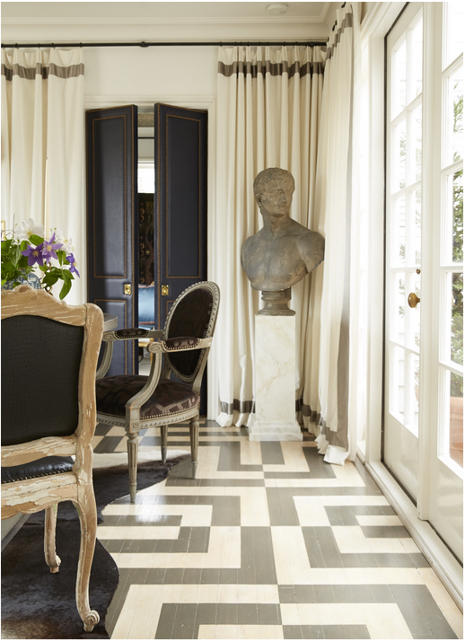 The Allure Of Painted Floors Graphic And Patterned Floors