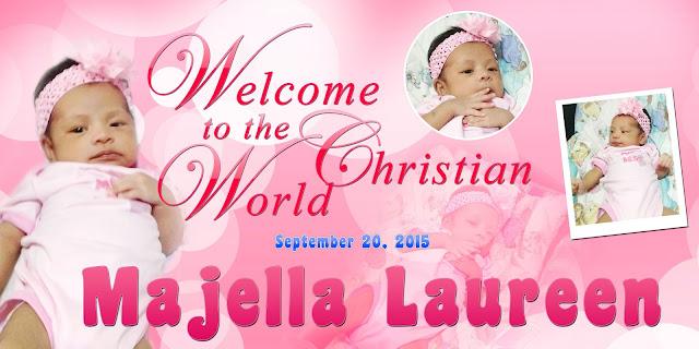 Baptism Invitations Layout