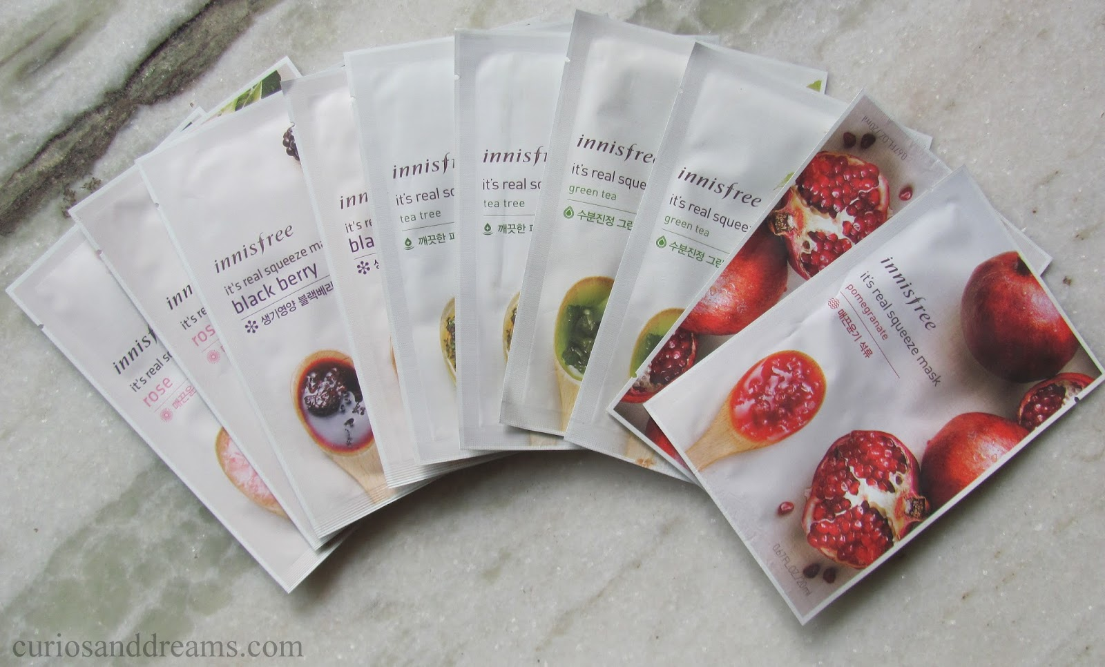 Curios And Dreams Makeup Beauty Product Reviews Innisfree Real Squeeze Mask Black Berry Its Review Sheet Masks Always Feel A Bit Of Novelty They Are Good Way To Pamper Yourself Plus Super Handy While