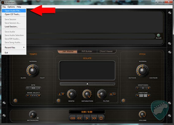 Aplikasi Untuk Mencari Chord Kunci Gitar dari mp3 windows laptop pc