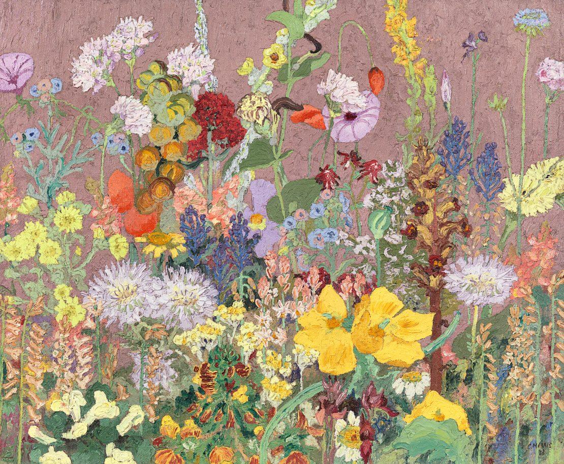 Flores silvestres del Mediterráneo. Wild Flowers. Cedric Morris, 1923