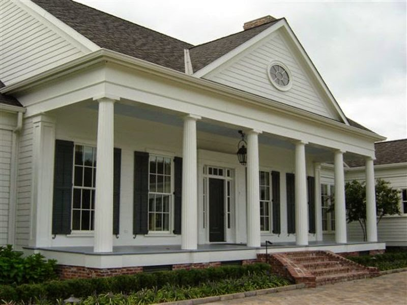 Decorative Pillars For Homes: Home Exterior Ideas: Januari 2015