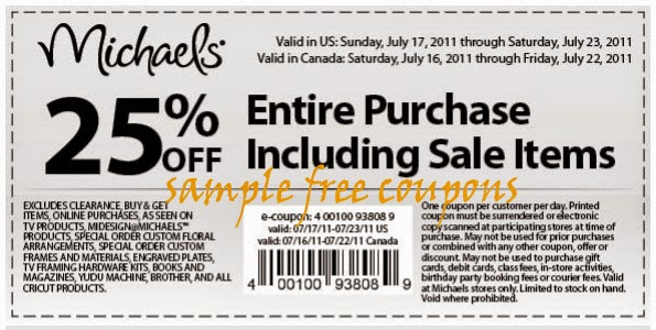 Michaels oupon / New Store Deals