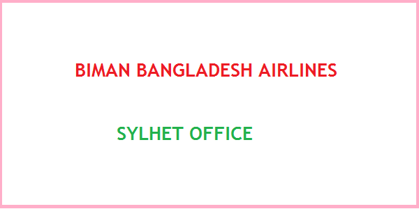 Biman Bangladesh Airlines Sylhet Office Contact