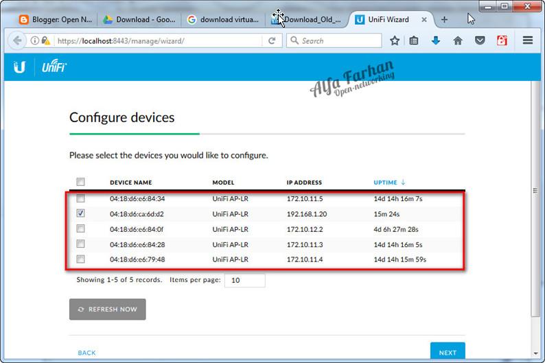 Setup Perangkat Unifi Menggunakan Unifi Controller ~ Open Networking