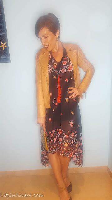 outfit 01 vestido otoño