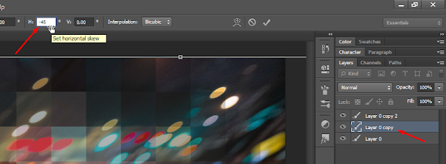 Membuat Triangle Background di Photoshop CS6