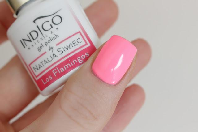 Indigo Los Flamingos paznokcie hybrydowe lakier hybrydowy semilac indigo neonail różowy natalia siwiec paznokcie gwiazd jakie paznokcie modne lato 2017 miami kolekcja nowość pink neon hybryda jakie wybrać lakier kolor paznokiec dziewczyna piękne instagram hola paola