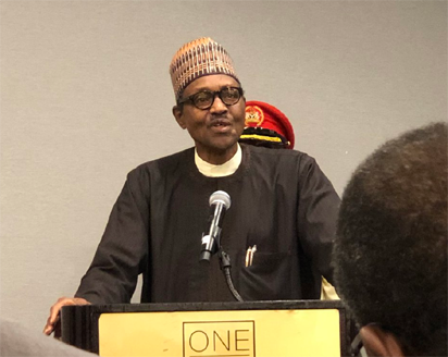 """""""I am the only one contesting for presidency in APC""""- Buhari"""