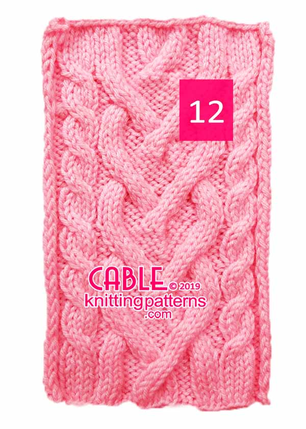 Cable Knitting Pattern 12