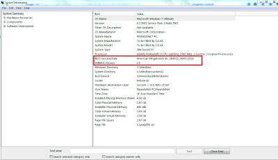 Cara update terbaru BIOS laptop atau komputer