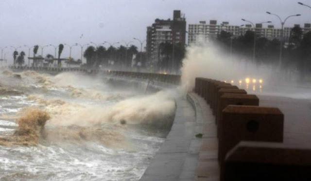 Alerta naranja en 11 departamentos de Uruguay por tormentas y lluvias