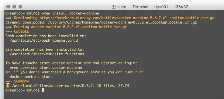 仮想化雑記帳: VMware 環境で docker を使う
