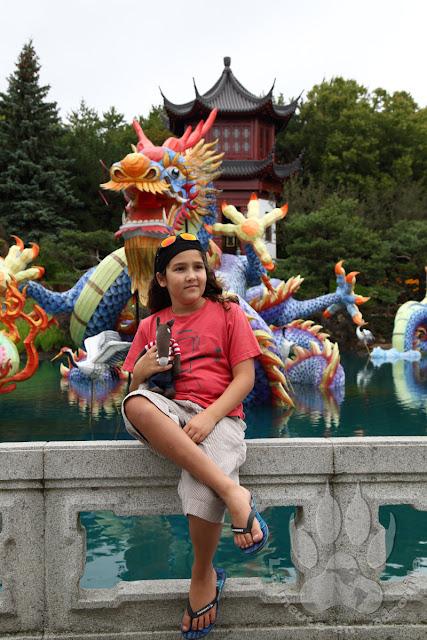 Canada-Quebec-Montreal-jardin-botanique-chine-dragon