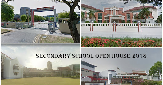 Secondary School Open House Dates 2018