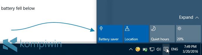 4 Tips Menghemat Baterai Laptop di Windows 10 dengan Fitur Battery Saver 2