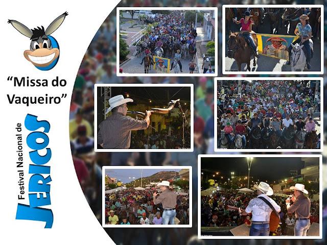Missa do Vaqueiro no Festival Nacional de Jericos em Panelas-PE