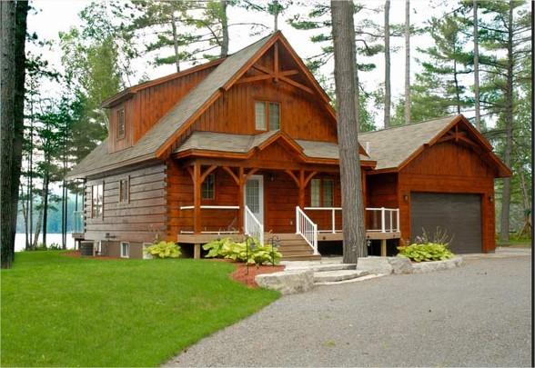 Prefab Log Cabin Modular Home Container Home