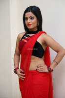 Aasma Syed in Red Saree Sleeveless Black Choli Spicy Pics ~  Exclusive Celebrities Galleries 033.jpg