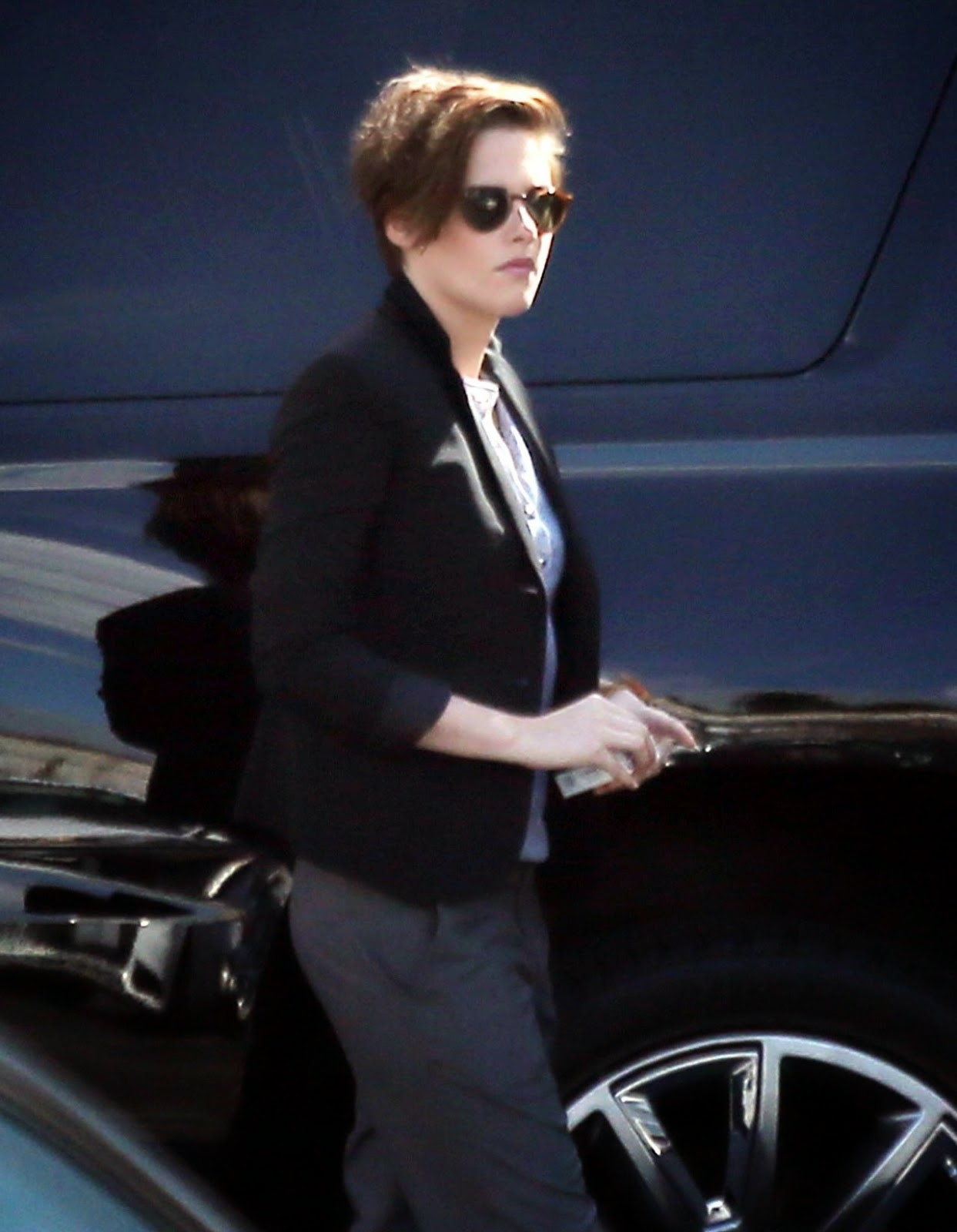 Kristen Stewart spotted smoking out and about in Los Angeles