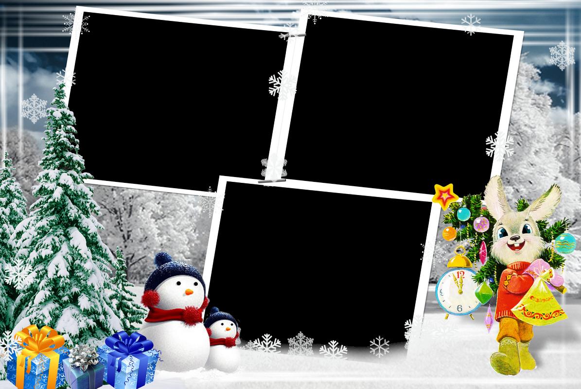 Imagenes navide as marcos navidad infantiles - Marcos de fotos grandes ...
