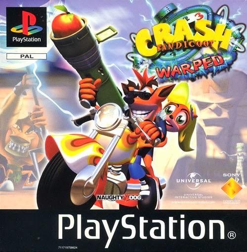 Crash Bandicoot 3 Warped Rom Psx Espa 241 Ol Minuroms