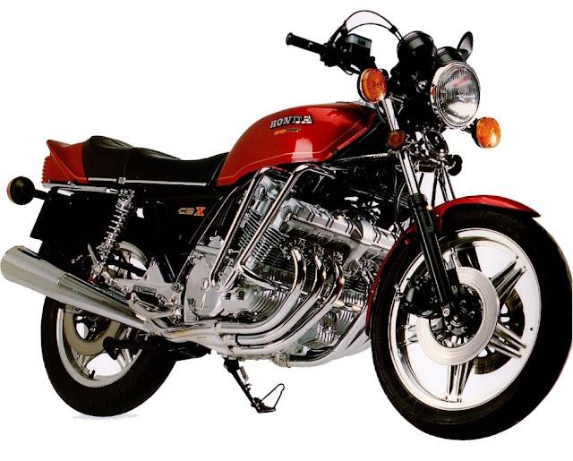 Honda CBX1000 1970s Japanese classic motorbike