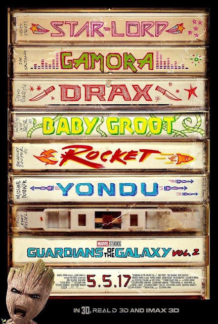 Latest look at Guardians of the Galaxy Vol 2 #GotGVol2