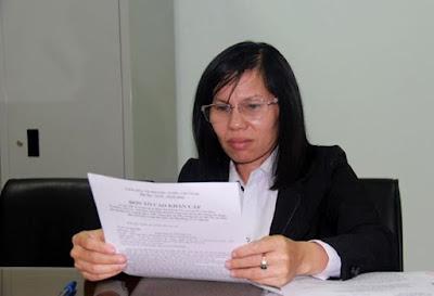"""Diễn biến mới vụ Luật sư Võ Thị Tiết tố cáo bị """"hành hung"""" tại Tòa."""