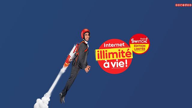 أوريدو تطلق عرضها الجديد Haya! Switch 4000 مع إنترنت مجاني مدى الحياة !