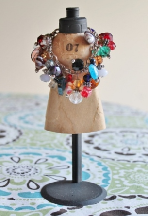 Vintage Style Mini Mannequin Upcycle