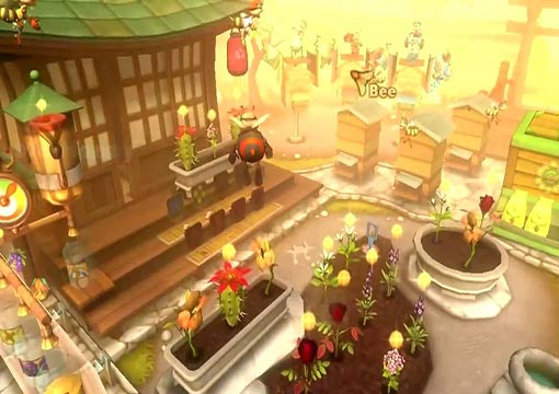 لعبة حديقة النحل Bee Garden - The Lost Queen للكمبيوتر