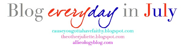 Blog Everyday in July