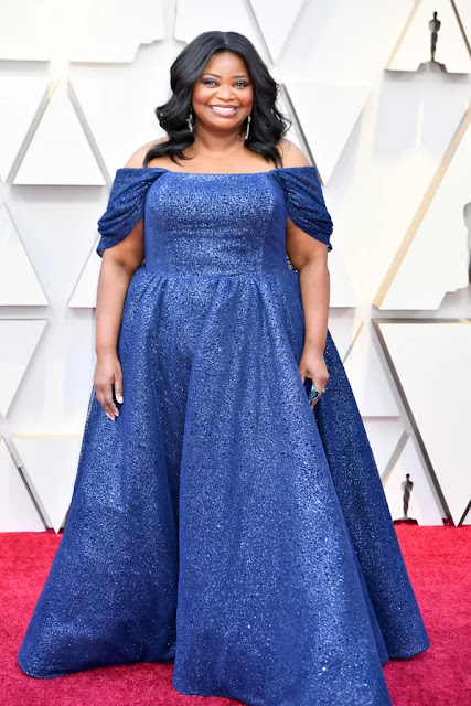 LOOK OCTAVIA SPENCER OSCAR 2019