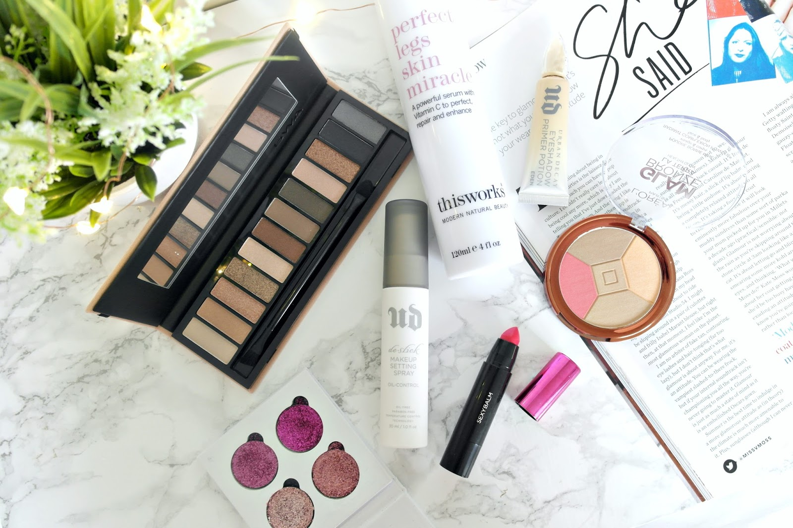 August makeup and beauty favourites