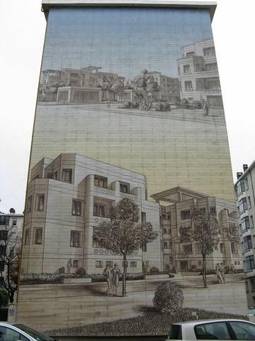 mur peint états unis lyon