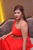 Payal Ghosh Looks Stunning in Red Half Shoulder Gown 008.JPG