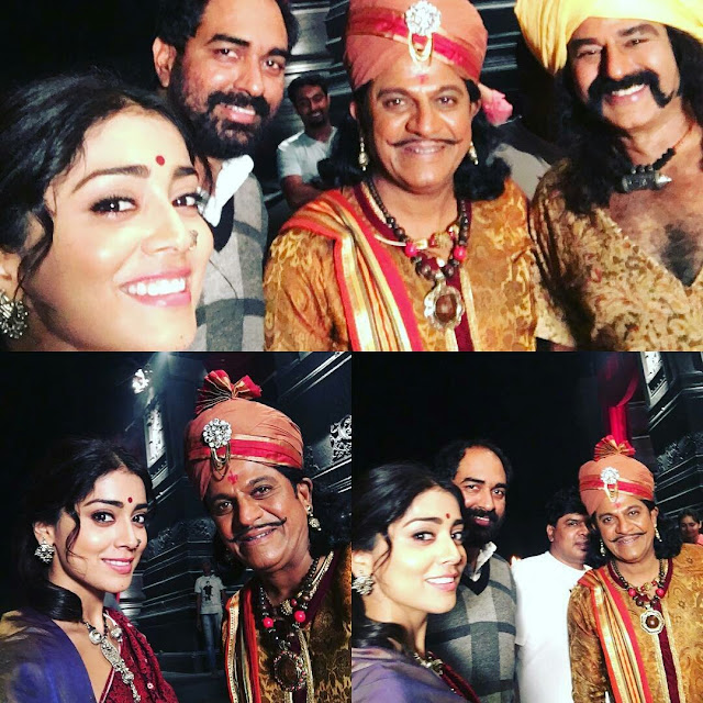 Gautamiputra satakarni movie Latest Working Stills