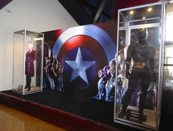 Captain America Civil War film costumes