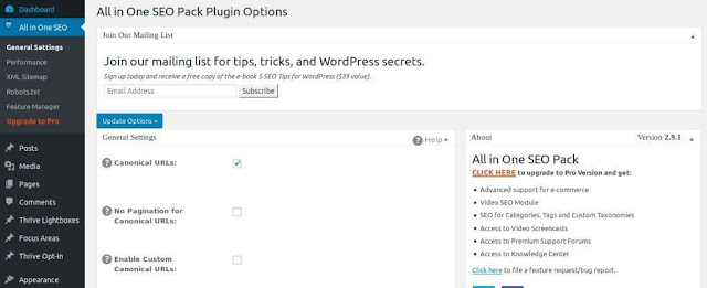 All in one seo plugin, Best plugins for wordpress