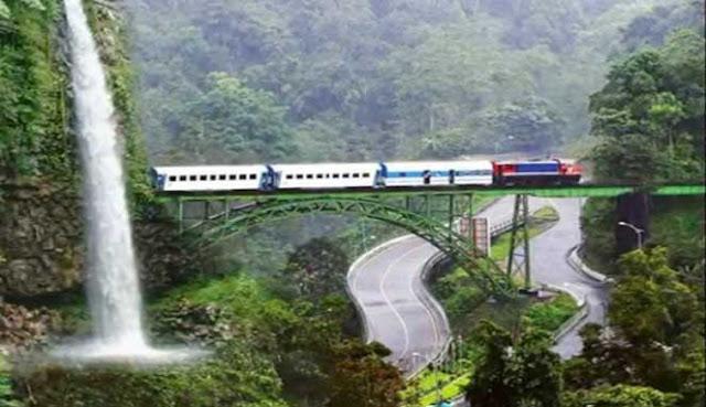 yakni salah satu tempat wisata paling terkenal di Sumatera Barat KEINDAHAN AIR TERJUN LEMBAH ANAI