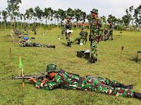 Kodim 0721/Blora Gelar Latihan Menembak