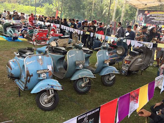 ISF ( indonesia scooter fest ) 23-24 september 2017 , jec jogjakarta
