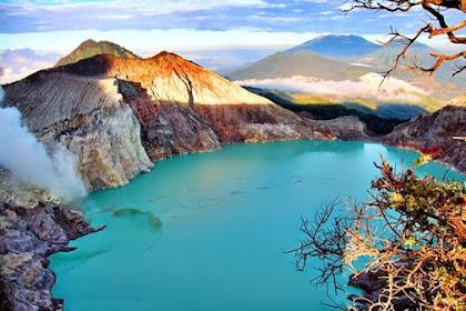 Kawasan Wisata Alam Kawah Ijen Yang Penuh Eksotis